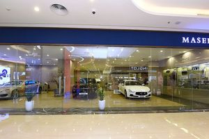 Maserati chọn TTTM Vincom Metropolis làm khu vực trưng bày thứ 3 tại Hà Nội