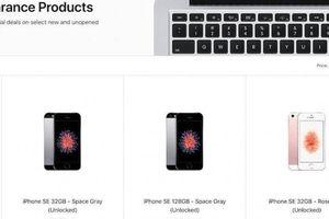 Apple bất ngờ mở bán lại dòng iPhone đã bị khai tử năm ngoái