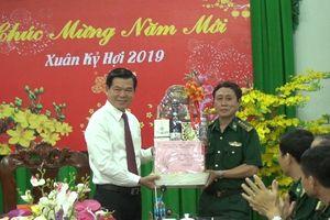 Lãnh đạo tỉnh thăm và chúc Tết Bộ đội Biên phòng Bà Rịa - Vũng Tàu