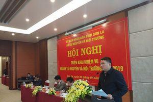 Sở TN&MT Sơn La triển khai nhiệm vụ năm 2019