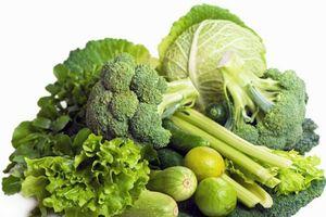 Điều kỳ diệu từ những loại rau củ quả có màu xanh