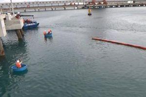 Công ty Nhiệt điện Vĩnh Tân diễn tập ứng phó sự cố tràn dầu tại NMNĐ Vĩnh Tân 2