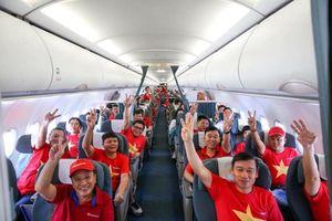 Tổ chức chuyến bay thẳng Hà Nội - Dubai phục vụ cổ động viên đội tuyển Việt Nam
