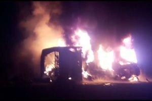 Va chạm xe buýt và xe tải, ít nhất 26 người thiệt mạng ở Pakistan