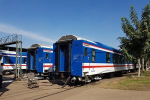 Đường sắt Sài Gòn tiếp nhận 11 toa xe đóng mới, sẵn sàng phục vụ vận tải Tết Kỷ Hợi