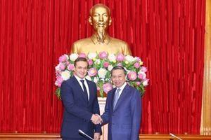 Đưa mối quan hệ giữa Bộ Công an Việt Nam và Bộ Nội vụ Lithuania đi vào chiều sâu