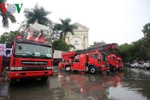 Việt Nam mua 81 xe chữa cháy hiện đại bậc nhất với giá 502 tỷ đồng