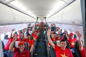 Vietnam Airlines tổ chức chuyến bay thẳng chở CĐV sang UAE tiếp lửa ĐT Việt Nam