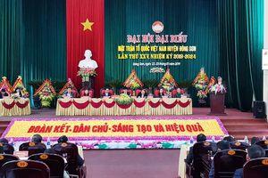 Thanh Hóa: Mặt trận huyện Đông Sơn tổ chức Đại hội điểm