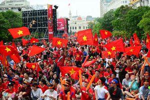 Nhiều địa điểm cho fan bóng đá xem trận Việt Nam-Nhật Bản