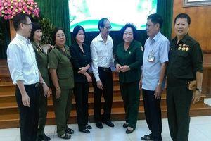 Quận 10 gặp mặt bộ đội tình nguyện, TNXP làm nhiệm vụ quốc tế
