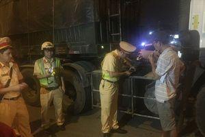 TPHCM: CSGT ra quân 'đón lõng' tài xế để kiểm tra ma túy