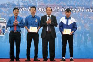 Phát động thi đua làm theo lời Bác trong đoàn viên thanh niên