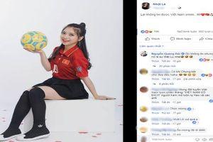 'Bơ đẹp' status của Quang Hải, Nhật Lê khiến fan đồn đoán việc rạn nứt