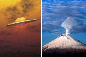 UFO gần núi lửa Mexico hé lộ bằng chứng về căn cứ của người ngoài hành tinh?