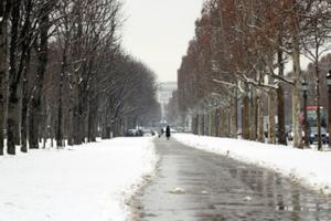 Pháp: Tuyết rơi dày đặc ảnh hưởng nghiêm trọng đến giao thông và sinh hoạt