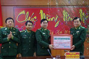 Trung tướng Hoàng Xuân Chiến kiểm tra, chúc Tết BĐBP Hà Tĩnh