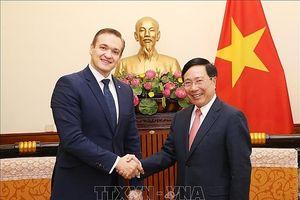 Lít-va cam kết ủng hộ, thúc đẩy quan hệ hợp tác toàn diện Việt Nam- EU
