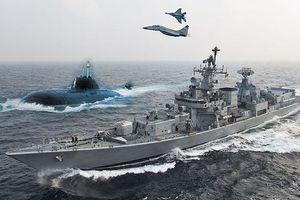 Ấn Độ tập trận trên biển lớn nhất lịch sử