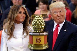 Vợ chồng TT Trump nhận đề cử giải Diễn viên tệ nhất tại Mâm Xôi Vàng 2019