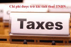 Hóa đơn xuất sai thời điểm có được tính vào chi phí được trừ khi tính thuế thu nhập doanh nghiệp?