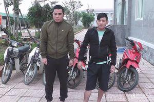 Phá chuyên án 15 vụ trộm cắp xe máy liên huyện