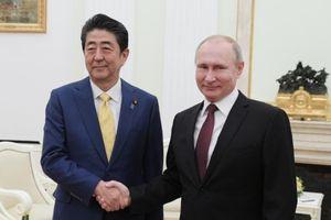 Nga - Nhật quyết giải quyết tranh chấp lãnh thổ