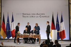 Hiệp ước Aachen - Thông điệp trách nhiệm từ hai 'đầu tàu' châu Âu