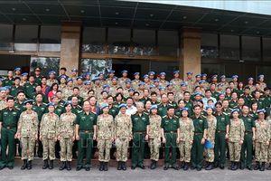 Cục Gìn giữ hòa bình Việt Nam tổ chức Giao lưu 'Những cánh chim hòa bình'