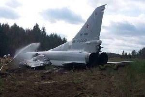 Rơi máy bay ném bom siêu thanh Tu-22M3 của Nga, 2 phi công thiệt mạng