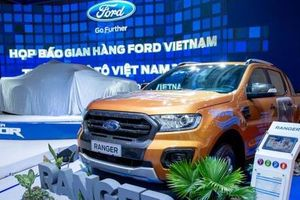 Ford Ranger tiếp tục đạt doanh số cao kỷ lục