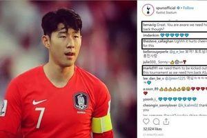 CĐV Tottenham 'trù úm' Hàn Quốc sớm thua tại Asian Cup 2019