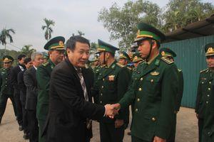 Thăm, chúc tết các đồn biên phòng, huyện miền núi Quảng Trị