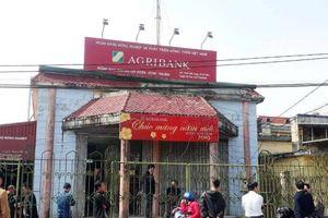 Cướp ngân hàng Agribank tại Thái Bình giữa ban ngày