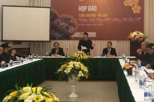 UBND tỉnh Bắc Giang tổ chức họp báo giới thiệu 'Tuần Văn hóa - Du lịch Tây Yên Tử'