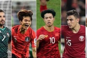 Công Phượng 'áp đảo' top 6 bàn thắng đẹp nhất vòng 1/8 Asian Cup 2019