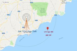 3 ngư dân tử nạn và mất tích trên vùng biển Bình Thuận.