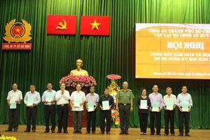 Hội viên Công an hưu trí tích cực tham gia công tác đảm bảo ANTT