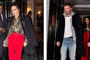 David Beckham ăn vận bảnh bao, 'hộ tống' vợ đi dự sự kiện giữa ồn ào ly hôn