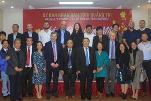 Quảng Trị: Vận động được 32 dự án, viện trợ phi dự án có vốn đầu tư nước ngoài