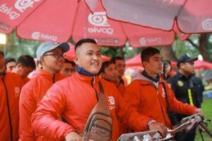 Go-Viet tung ứng dụng giao đồ ăn Go-Food ở Hà Nội