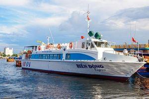 Tàu siêu tốc Super Biển Đông đâm chìm tàu cá ở Quảng Ngãi