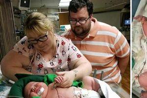 Bé sơ sinh nặng gần 6,7 kg