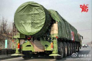 Quân đội TQ chuẩn bị cho chiến tranh hạt nhân với mô phỏng ICBM
