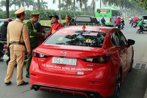 CSGT Hà Nội điều động toàn lực lượng trước trận tứ kết Asian Cup