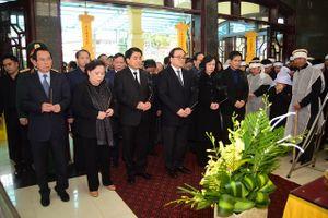 Tổ chức trọng thể lễ tang đồng chí Nguyễn Văn Tâm, nguyên Bí thư Tỉnh ủy Hà Tây