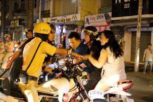 Hà Nội: Huy động 100% CSGT phân luồng sau trận Việt Nam vs Nhật Bản