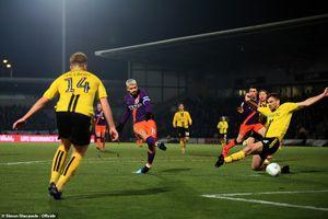 Thắng chung cuộc 10-0, Man City vào chung kết cúp Liên đoàn Anh