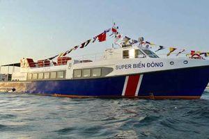 Tàu thủy siêu tốc tông chìm tàu cá