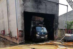 Cháy tại công ty sản xuất sản phẩm gỗ, 4 người thương vong